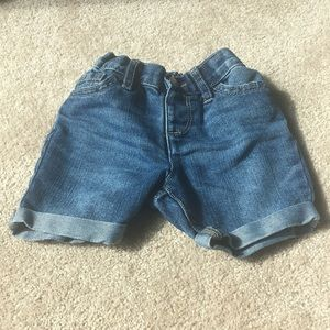 Jean Toddler Shorts 2T